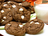Triple Chocolate Shortcut Cookies Recipe